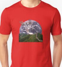 Parallax Great Wall From Space Unisex T-Shirt