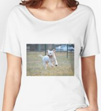 Frolicking! Women's Relaxed Fit T-Shirt