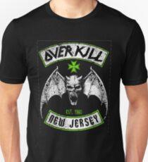Overkill skull bat T-Shirt