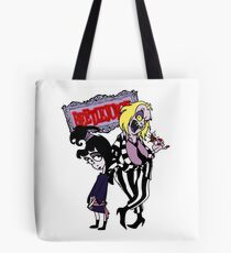 Beetlejuice - Lydia & Beetlejuice Group 01 Tote Bag