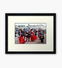 Section 5 drummers, St. Leonards Framed Print
