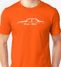 Livin' Retro for Opel Ascona C 4-door sedan enthusiasts Unisex T-Shirt
