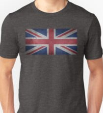 United Kingdom Flag Grunge T-Shirt