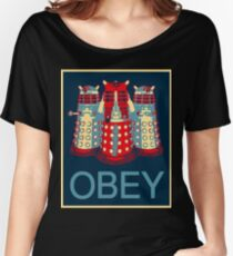 OBEY Women's Relaxed Fit T-Shirt