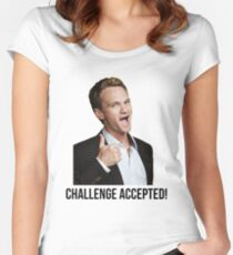 Barney Challenge Women's Fitted Scoop T-Shirt