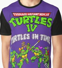 TMNT Turtles In Time (SNES) Graphic T-Shirt