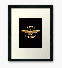 Naval Aviation (T-Shirt) Framed Print