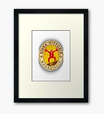 mad beer Framed Print