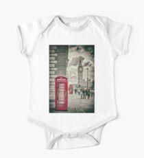 London Telephone Box One Piece - Short Sleeve