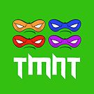 TMNT - Teenage Mutant Ninja Turtles - MASK by aditmawar