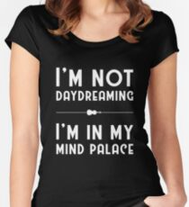 Sherlock, Mind Palace (B&W) Women's Fitted Scoop T-Shirt