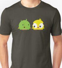 Two cute birds in love Unisex T-Shirt