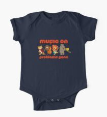Music on - problems gone! One Piece - Short Sleeve