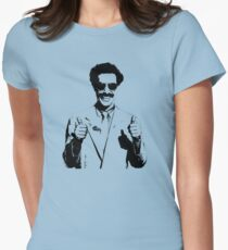 Borat Womens Fitted T-Shirt