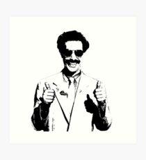 Borat Art Print