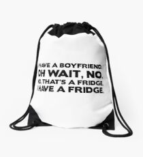 Fridge Boyfriend Drawstring Bag