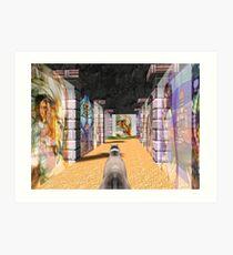 The Glass Maze Art Print