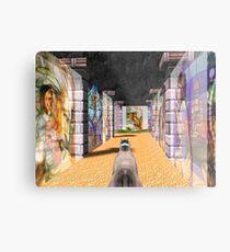 The Glass Maze Metal Print