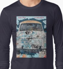Berlin Trabant Car On The Berlin Wall T-Shirt