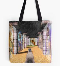 The Glass Maze Tote Bag