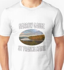 Narrow Gauge in St. Francis, Maine T-Shirt