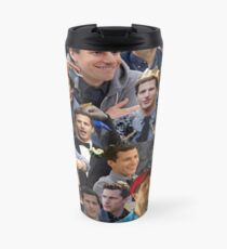 Jake Peralta Collage Travel Mug