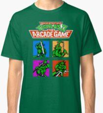 Teenage Mutant Ninja Turtles 2 (NES) Classic T-Shirt