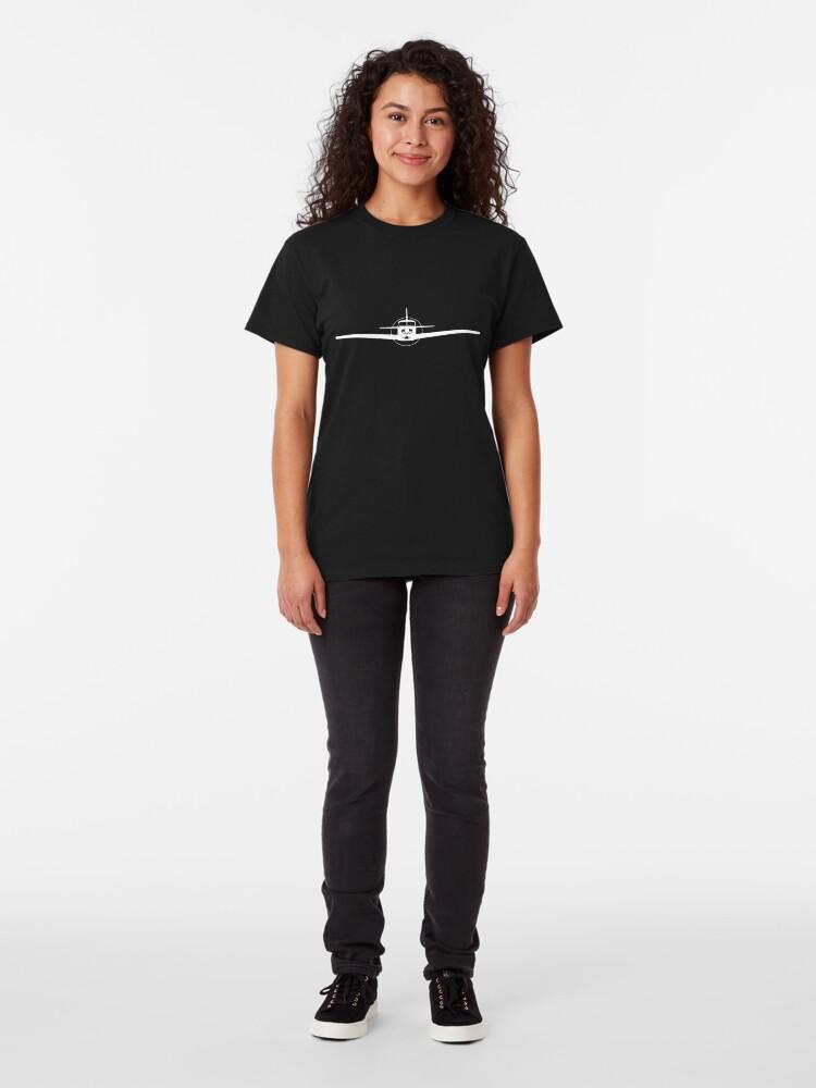 Alternate view of Piper Comanche Head-On Classic T-Shirt