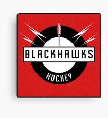 Blackhawks Hockey Canvas Print