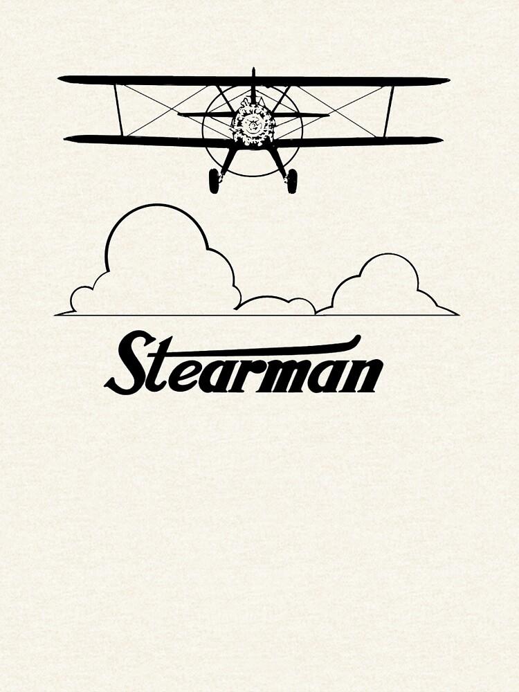 Stearman Clouds Head-On by cranha