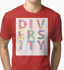 Colourful Unity in Diversity Tri-blend T-Shirt