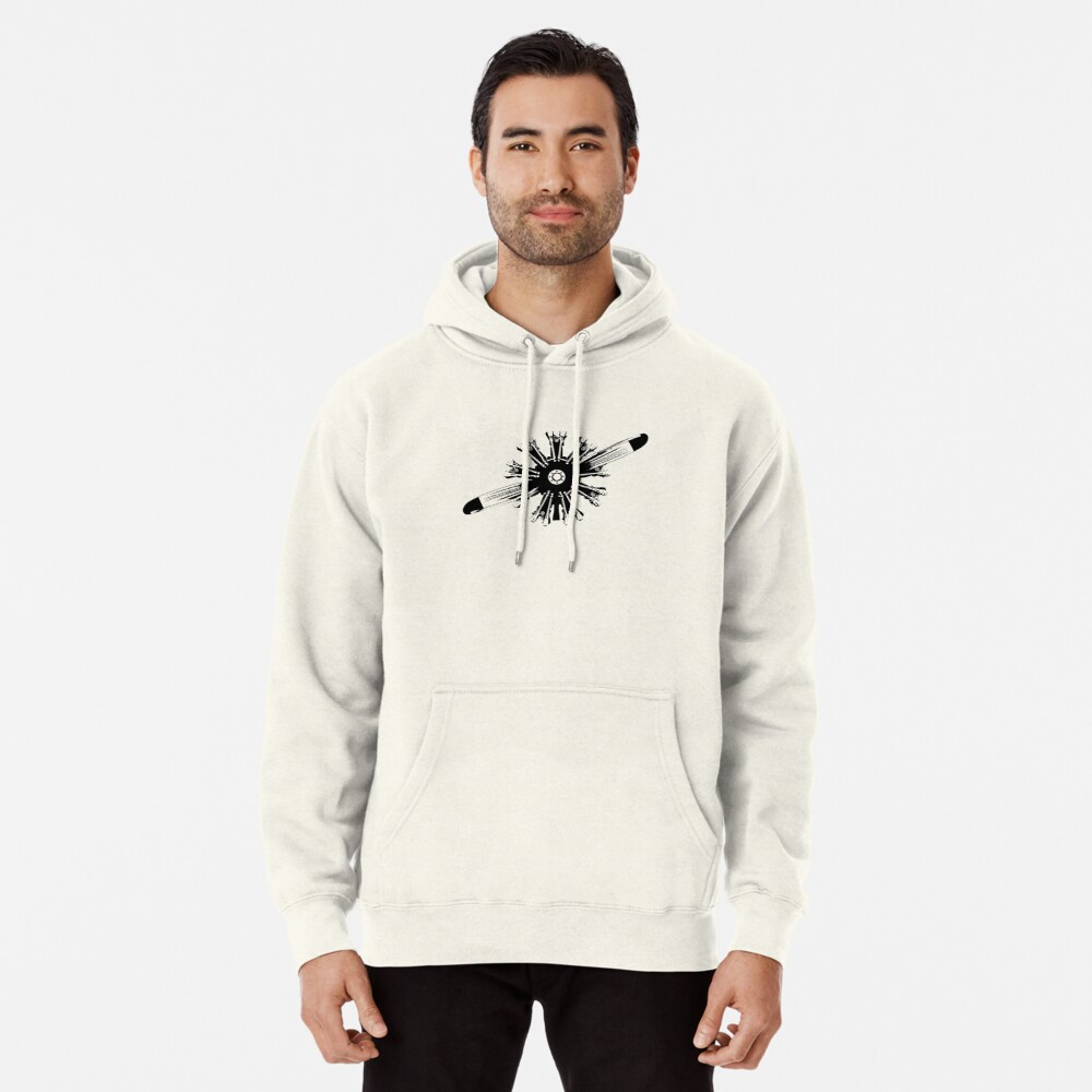 Radial Aircraft Engine Pullover Hoodie