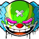 Neon Clown by swiftyspade