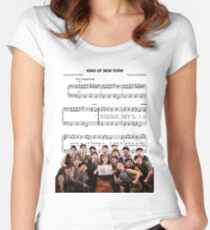 King of New York - Newsies Women's Fitted Scoop T-Shirt