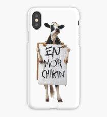 Eat Mor Chikin iPhone Case