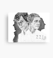 Sherlock & John Canvas Print