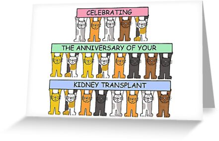 Celebrating the anniversary of your kidney transplant greeting celebrating the anniversary of your kidney transplant by katetaylor m4hsunfo