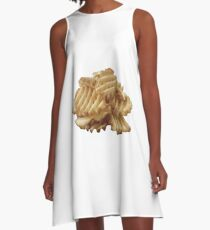 Waffle Fries A-Line Dress