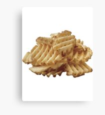 Waffle Fries Canvas Print