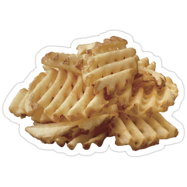 how to cut waffle fries