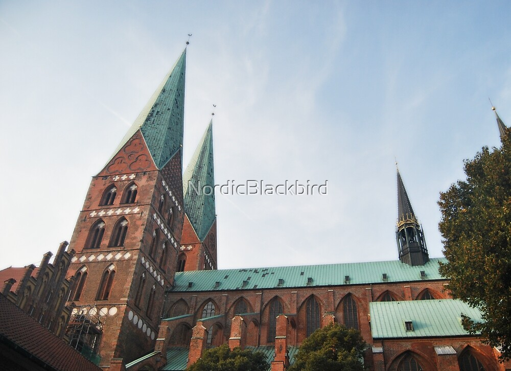 Lübeck - Saint Mary's Church by NordicBlackbird