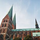 Lübeck - Saint Mary's Church by NordicBlackbird