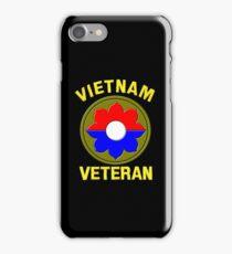 9th Infantry Division (Vietnam Veteran iPhone Case/Skin