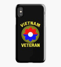 9th Infantry Division (Vietnam Veteran iPhone Case/Skin