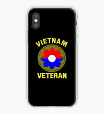9th Infantry Division (Vietnam Veteran iPhone Case