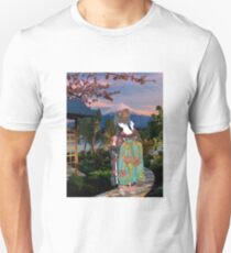 Geiko in a Japanese Landscape T-Shirt