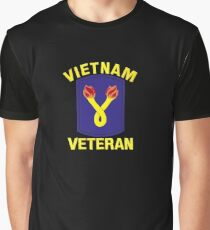 The 196th Infantry Brigade Vietnam Veteran Graphic T-Shirt