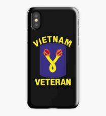 The 196th Infantry Brigade Vietnam Veteran iPhone Case
