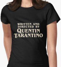 Written and Directed by Quentin Tarantino (original) Women's Fitted T-Shirt
