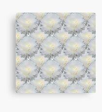Natural Flowers Series - White Canvas Print